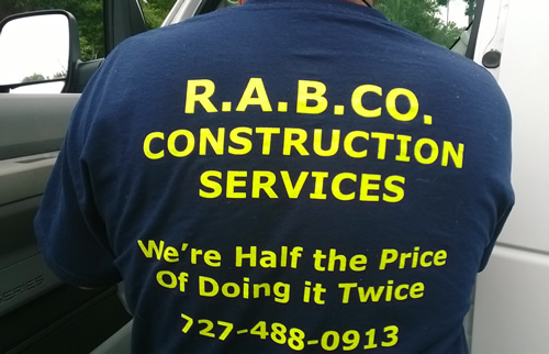 Rabco Construction Services Saves Customers Money By Doing It Right In The First Place