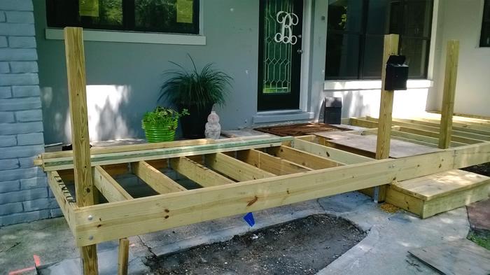 Front Porch Remodel Belleair FL