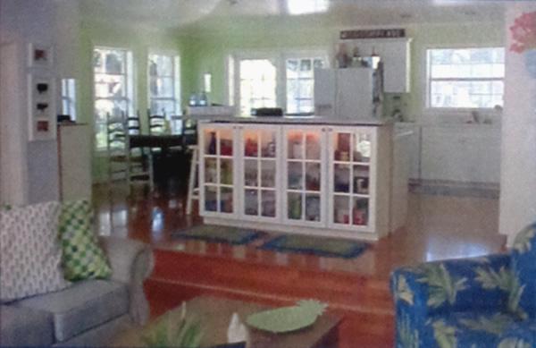 Interior remodel of Belleair home