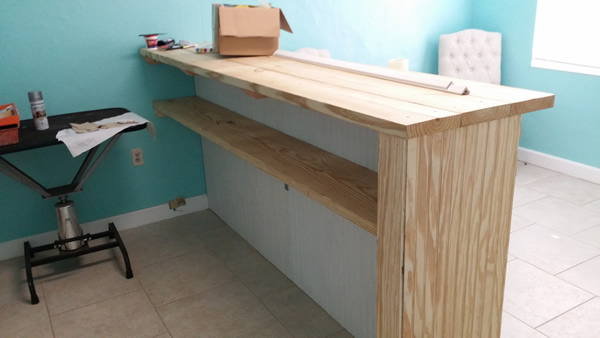 Business Counter Carpentry
