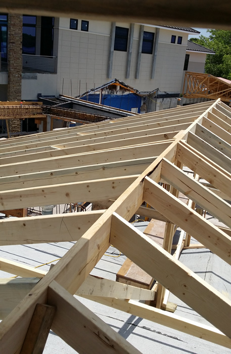 Roof Addition Framing by Rabco Construction Services